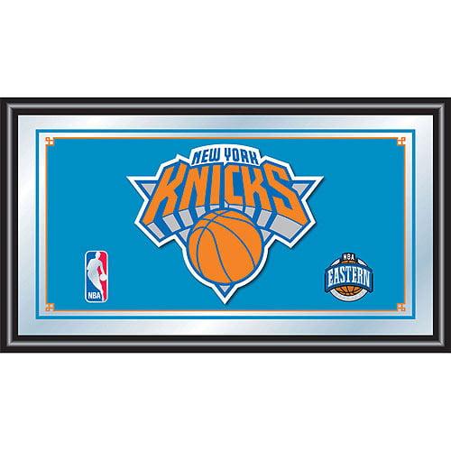 New York Knicks NBA Framed Logo Mirror