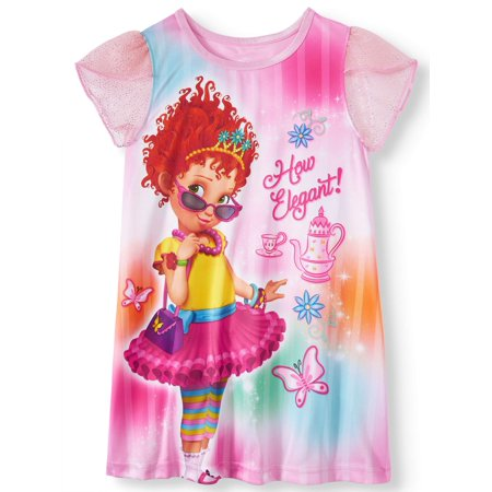 Fancy Nancy Nightgown (toddler - Girls Nightgown Cotton