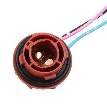 2pcs DC 12V 1157 Bulb Socket Wire Harness for Car Turn Signal Brake Light - image 2 of 3