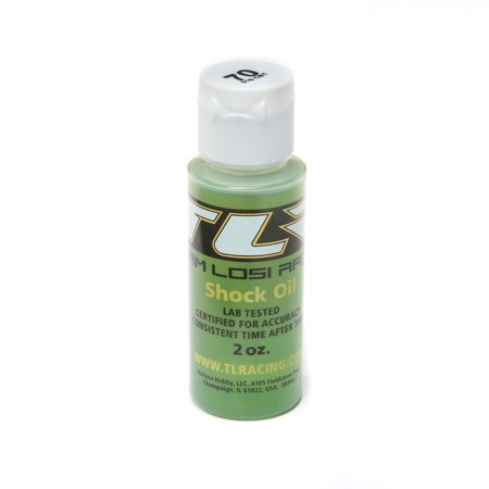 Team Losi Racing Silicone Shock Oil, 70wt, 2oz, TLR74015