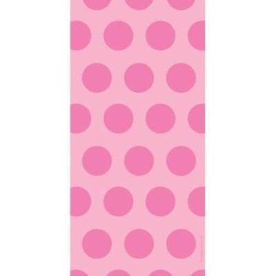 Polka Dot Cello Bags, Candy Pink , 4PK](Candy Dots)