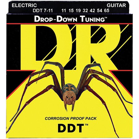 Tonepros 7 String (DR Strings Drop Down Tuning DDT Electric 7 String Set)