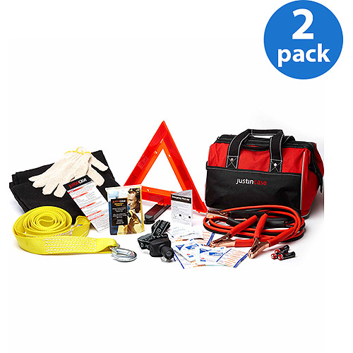AutoMedic 44 pc. Automotive Safety Kit from JustinCase 2-Pack