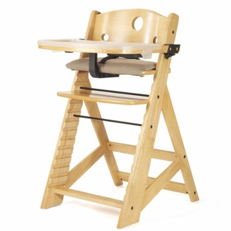 (Keekaroo Height Right Natural High Chair with Tray)