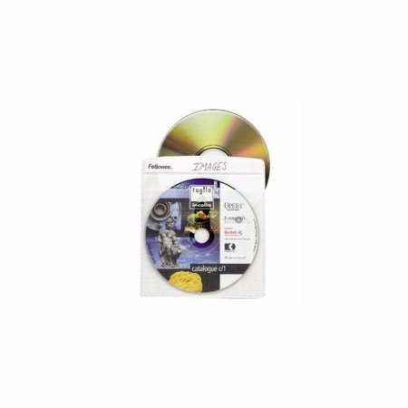 - Fellowes, Inc. Cd Sleeve- 25pk,dds Must Be Ordered In Multiples Of Case Qty=6