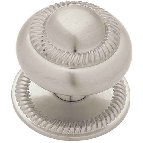 Brainerd 37mm Roped Knob with Backplate, Available in Multiple Colors