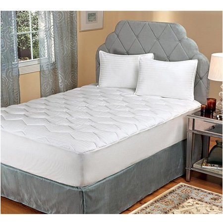 Hotel madison comfort luxe twin full size mattress topper for Comfort inn mattress brand