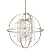 Donny Osmond Home Carrington 4-Light Globe Chandelier