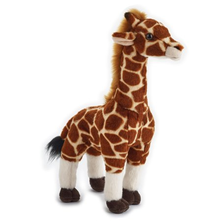 Large Plush Giraffe - Lelly - National Geographic Basic Plush, Giraffe