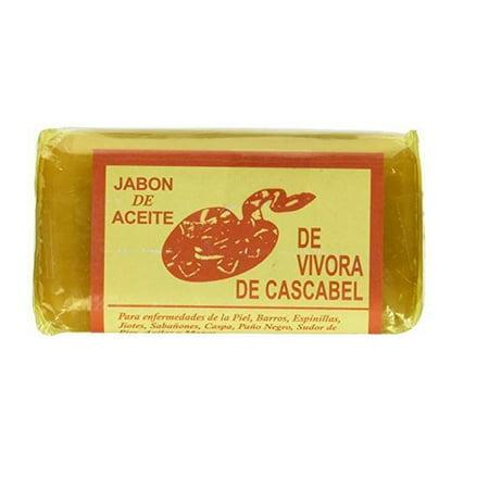LWS LA Wholesale Store  JABON DE ACEITE DE VIVORA DE CASCABEL Rattlesnake Soap for Acne Rashes