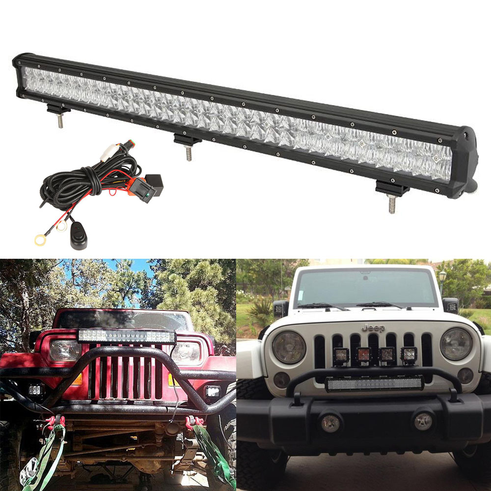 90845d88 315f 491a baaf ec16402483e8_1.b011f7599d5253657366f4df7f7ee09f beamnova 32 inch 198w led light bar 5d cree work lights bars HID Flood Lights at crackthecode.co