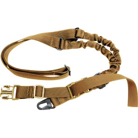 Coyote Brown - Tactical Military Style Single Point Sling