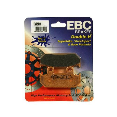EBC Double-H Sintered Brake Pads Front (2 Sets Required) Fits 87-90 Honda CBR600F Hurricane