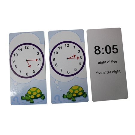 Telling Time Flash Cards - Quiz - Learn about Clocks - Early Childhood Teacher Supply - Teacher Supplies Websites