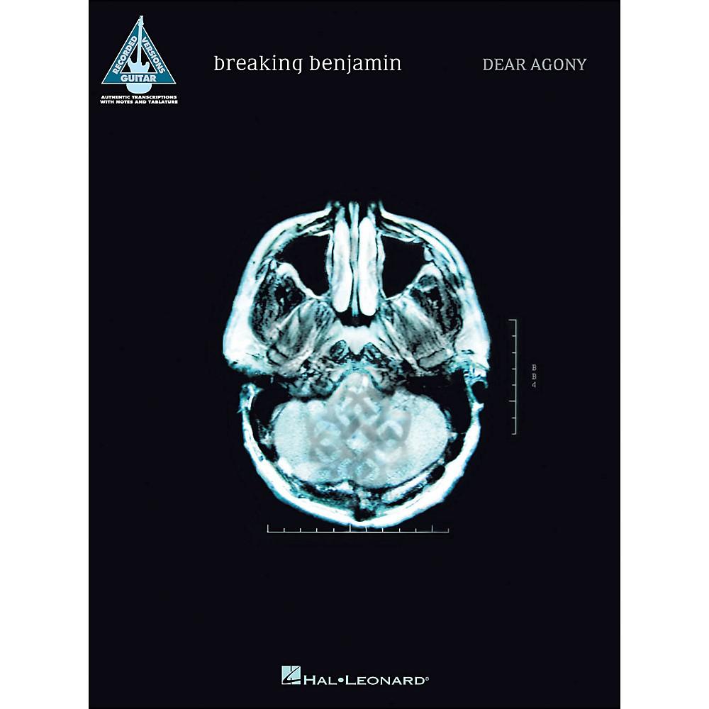 Hal Leonard Breaking Benjamin - Dear Agony Guitar Tab ...