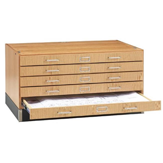 Diversified Woodcrafts FFS-3624K Flat File, Stackable Oak