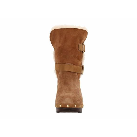 0f6b6add1a3 Women's Brea Mid-Calf Platform Clog Boots 1013596