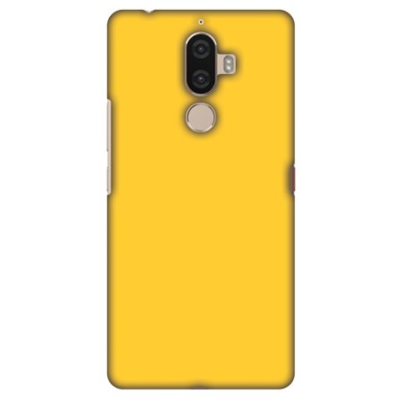 Lenovo K8 Note Case, Premium Handcrafted Designer Hard Shell Snap On Case Printed Back Cover with Screen Cleaning Kit for Lenovo K8 Note, Slim, Protective - Bumblebee Yellow