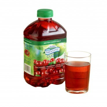 Hormel Thick & Easy Thickened Cranberry Juice Cocktail, Nectar, 48 Ounce Bottle, 15813 - Case of 6