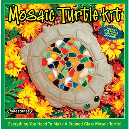 Milestones Mosaic Turtle Stepping-Stone Kit
