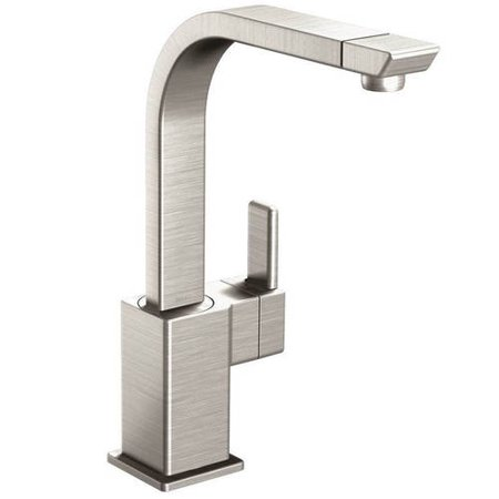 Moen S7170SRS 90 Degree High-Arc Kitchen Facuet, Available in Various Colors