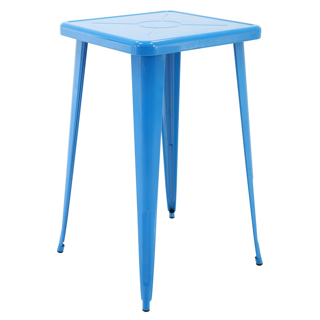 """Porthos Home Indoor & Outdoor Rust-Resistant Metal Bar-Height Table 41"""" Tall"""