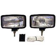 "Anderson 55W Halogen Docking Lights with 1.50"" Stainless Steel Bolt, Black"