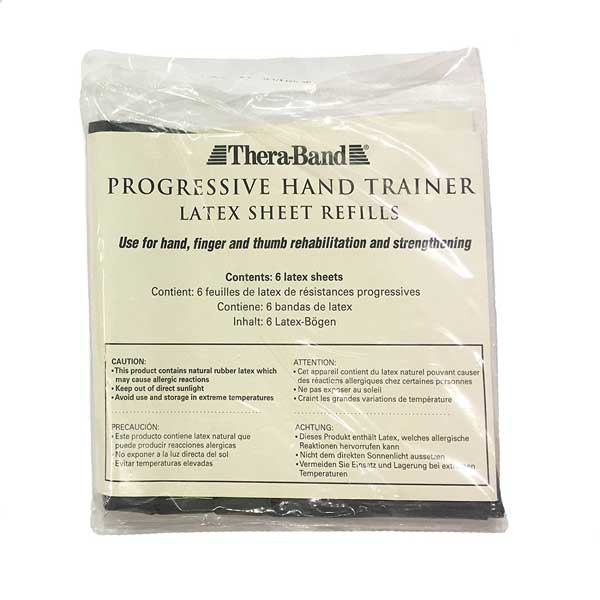 Thera-Band Hand Trainer-Refill-Green - Box of 6