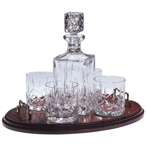 Majestic Crystal 6-Piece Decanter Set