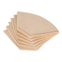 Yosoo 40Pcs Unbleached Natural Cone-Shape Drip Coffee Cup Filter Papers      , Coffee Filters, Coffee Filter Paper