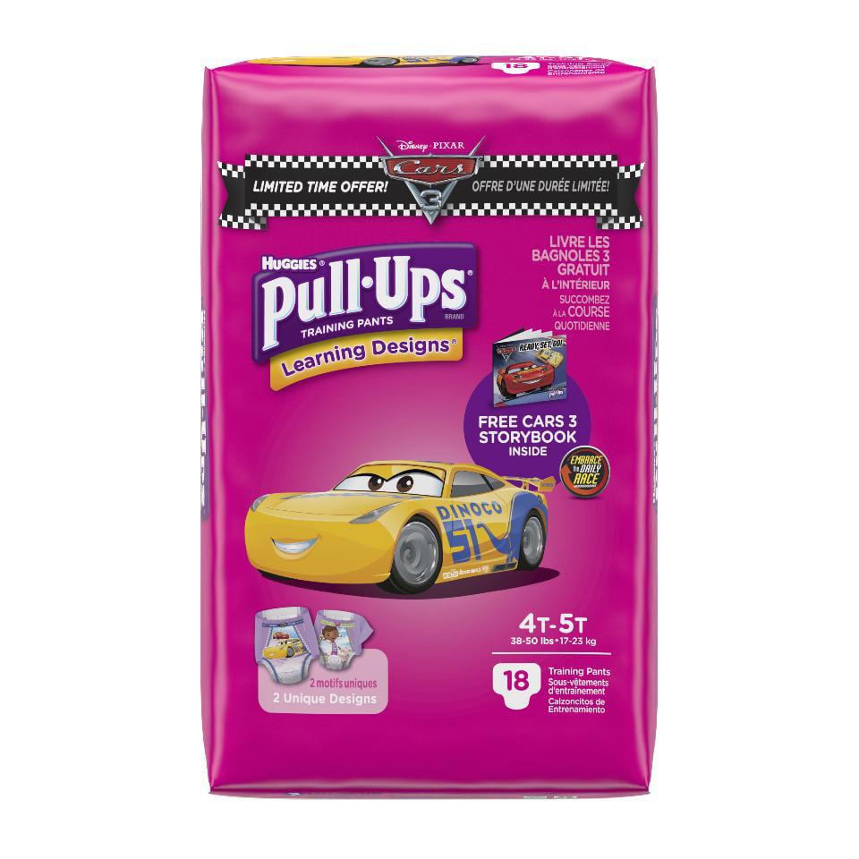 Huggies Pull-Ups Girls' Training (Pack of 4)