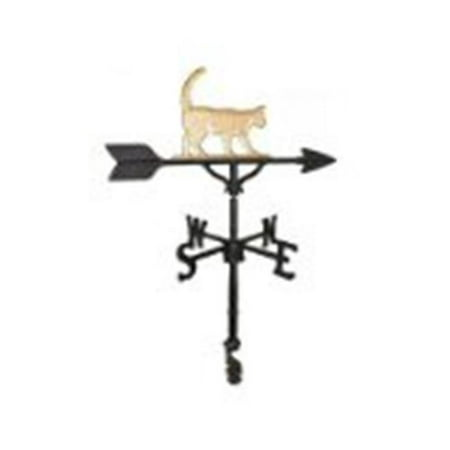 200 Series 32 In. Gold Cat Weathervane