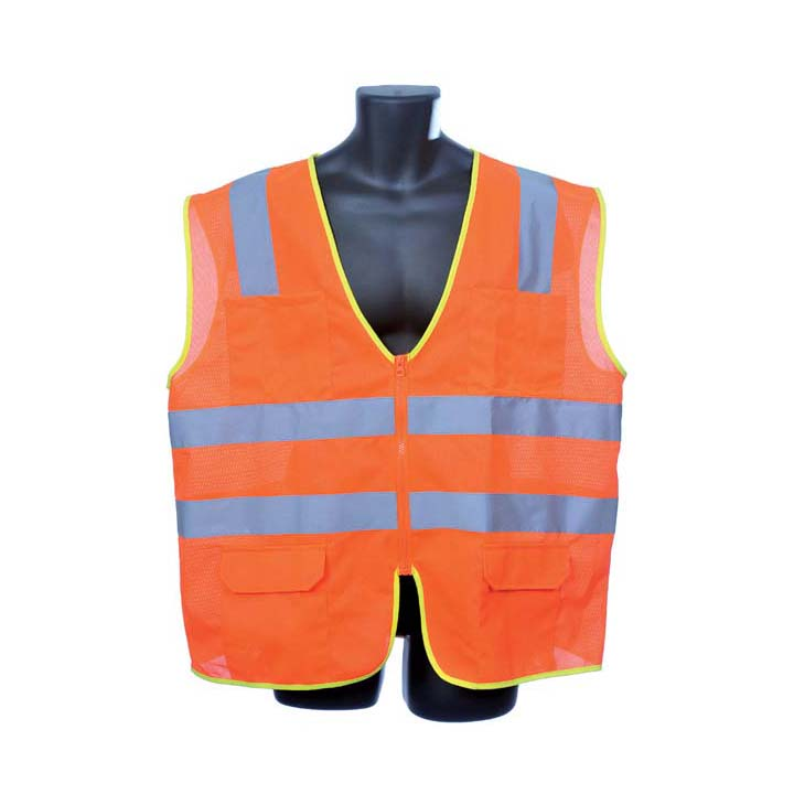 Class II Orange Vest. Size: Small Lot of 1 Pack(s) of 1 Unit
