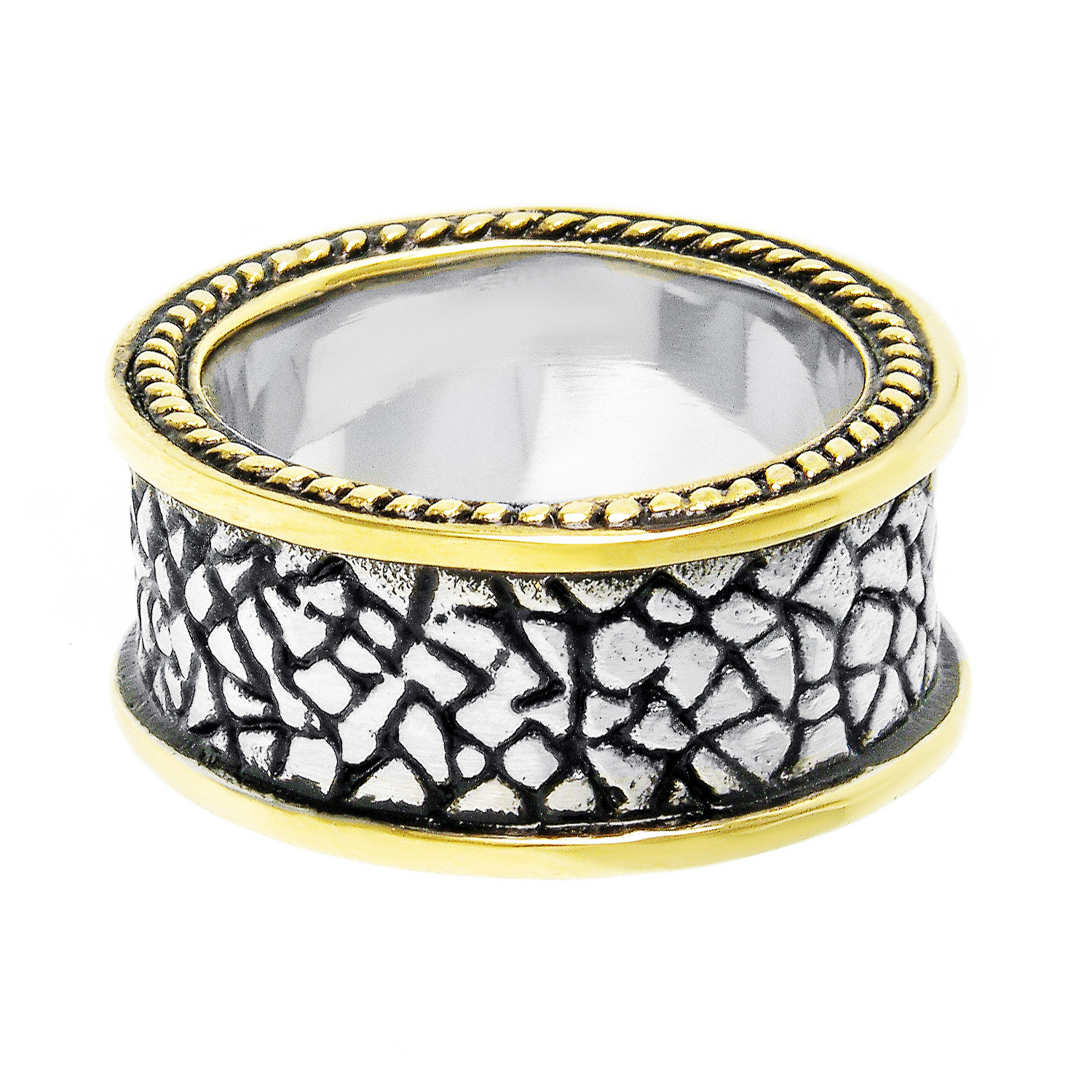 Metro Jewelry Stainless Steel Ring GIP