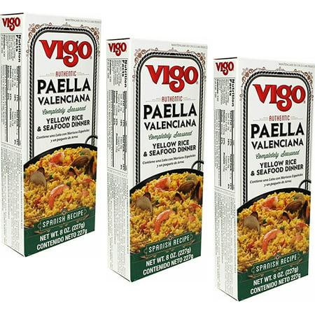 Serve Meals - Vigo Paella Valencia Spanish original recipe 8 oz Serves 2 (pack of 3)