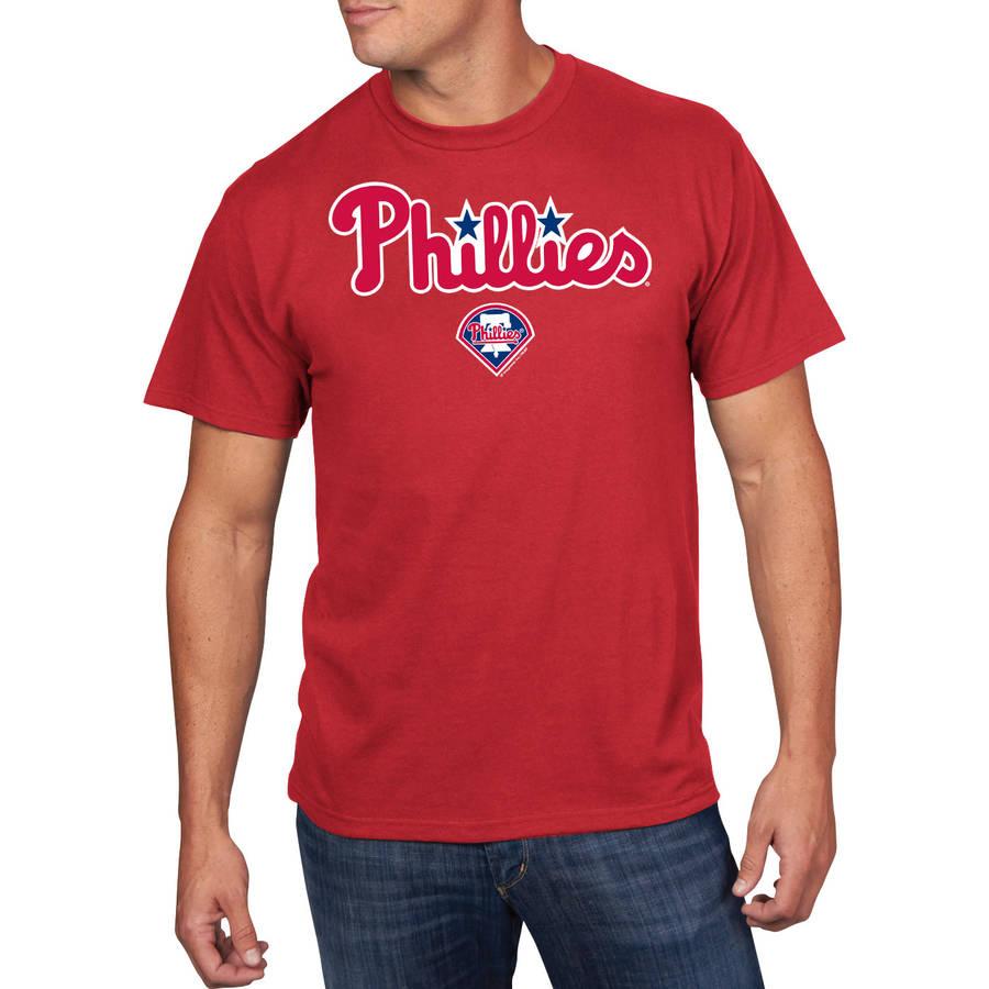MLB - Big Mens Philadelphia Phillies Short Sleeve Team Tee