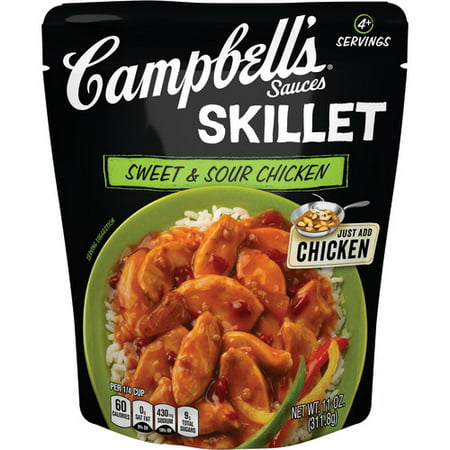 Campbell's Skillet Sauces Sweet & Sour Chicken, 11