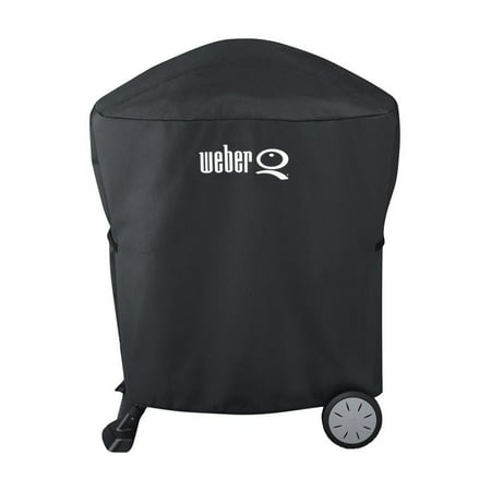 Weber® Q100/1000, Q200/Q2000 Premium Grill Cover - Black