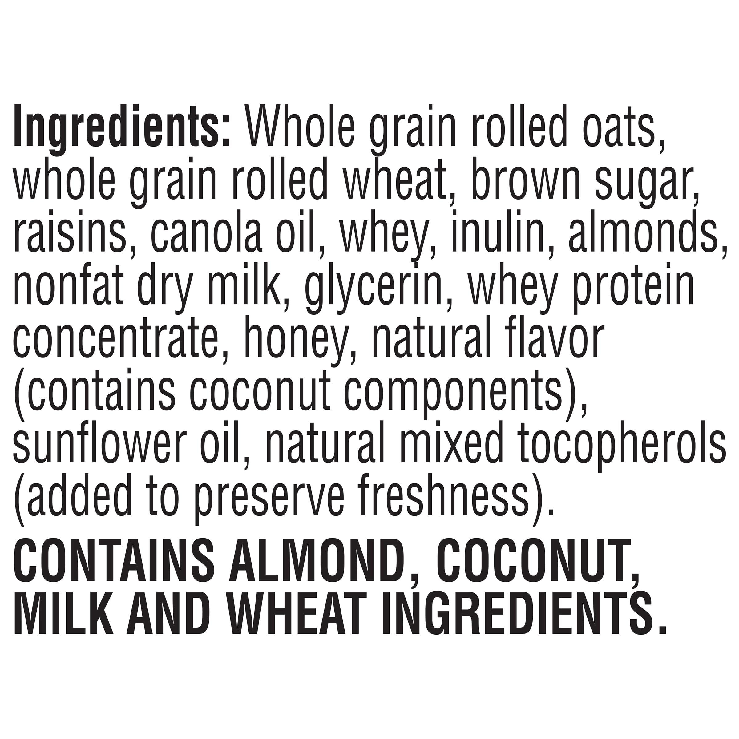 Quaker Simply Granola Oats Honey Raisins & Almonds 28 oz Box