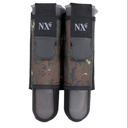 NXE Paintball SP 2 Pod Harness - Digi Camo + 2 Pods