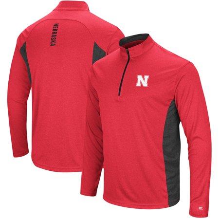 """Nebraska Cornhuskers NCAA """"Audible"""" 1/4 Zip Pullover Men"""