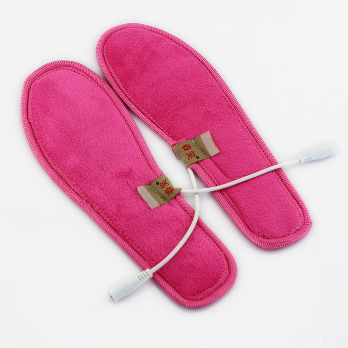 USB Electric Heated Shoe Insole Warm Sock Feet Heater Foot Winter Warmer Pads
