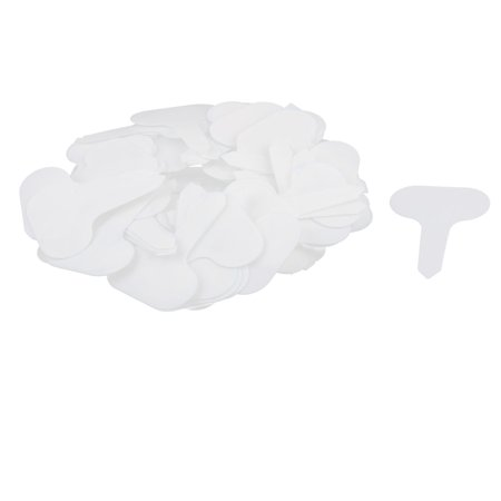 - Parterre Plastic Water Resistant Plant Seed Tag Label Marker White 100pcs