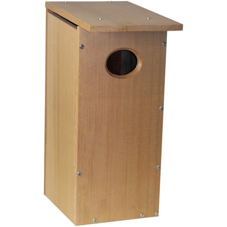 Heath Outdoor Products Wood Duck Cedar House Complete Kit (Skateboard Bird House Complete)