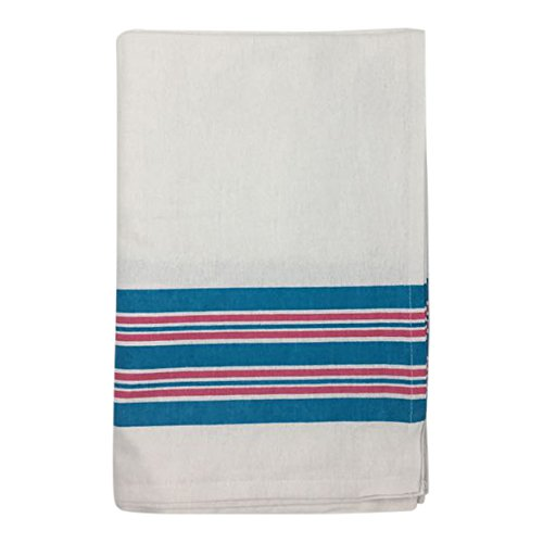 Nobles Hospital Receiving Blankets, Baby Blankets, 100% Cotton, 30x40, Stripe (Pack of 6)