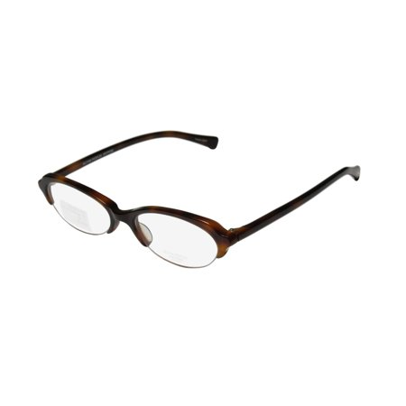 New Oliver Peoples Lorelei Womens/Ladies Cat Eye Half-Rim Havana Trendy Casual Cat Eyes Frame Demo Lenses 50-17-140 (Havana Lens Brown Gradient Frame)