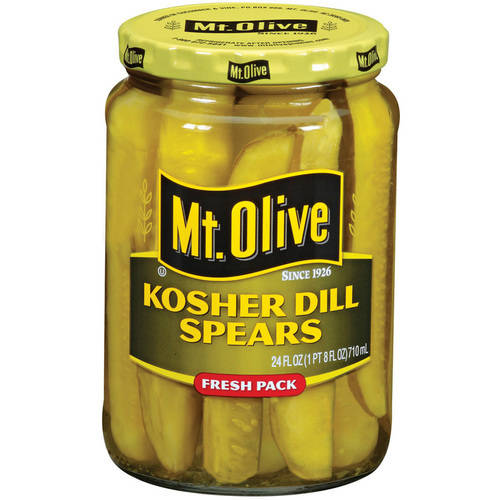 Mt. Olive Kosher Dill Spears Pickles, 24 fl oz