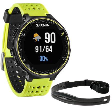 Garmin Forerunner 230 GPS Running Watch, Force Yellow + Heart Rate Monitor