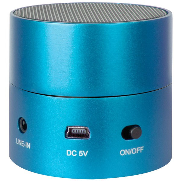 iSound iSound-1685 Fire Mini Wired Rechargeable Portable Speaker Blue