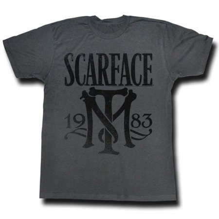 Scarface Movies Symbol Adult Short Sleeve T Shirt](Scarface Halloween)